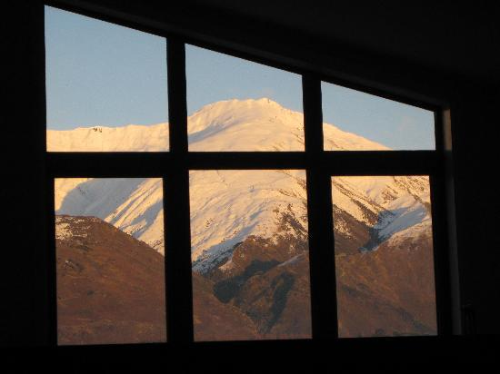 Clearbrook Motel Wanaka: view from main bedroom