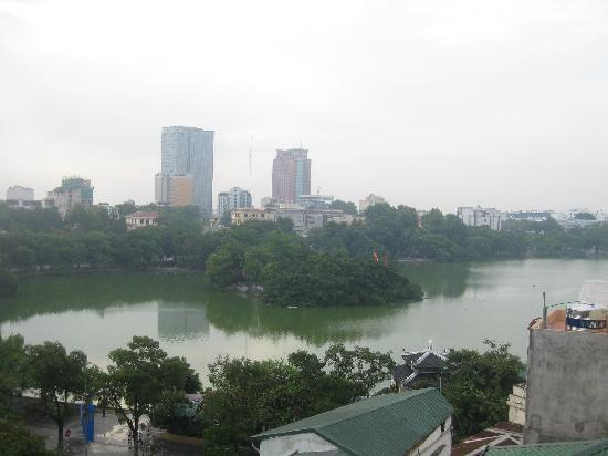 Hanoi Morning Hotel : Sword lake view from the hotel