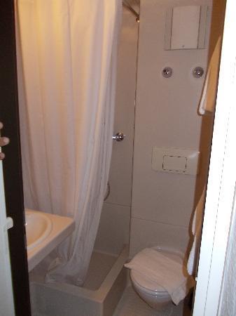 das Hotel in Munchen : il bagn...etto....