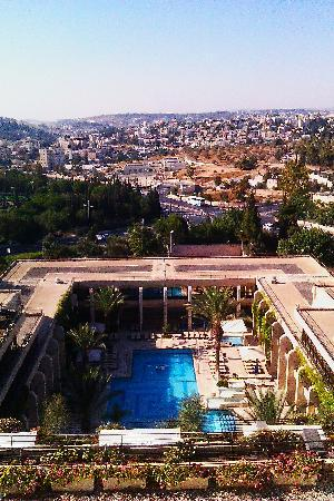 Dan Jerusalem Hotel: View from the room