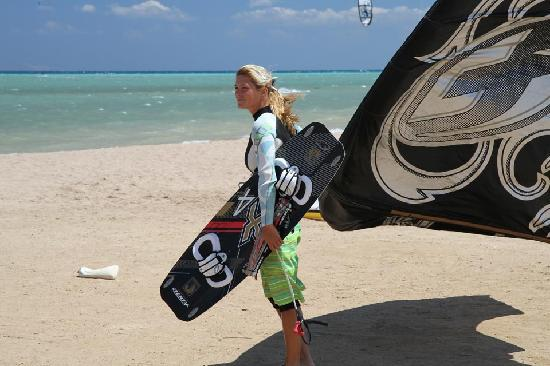 Kiteboarding Club El Gouna: Ideal kite surfing conditions