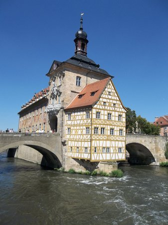 Bamberg, Germany: The island town hall