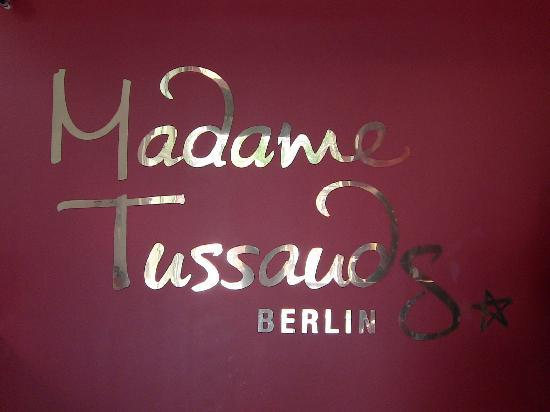 Madame Tussauds Berlin: Eingang