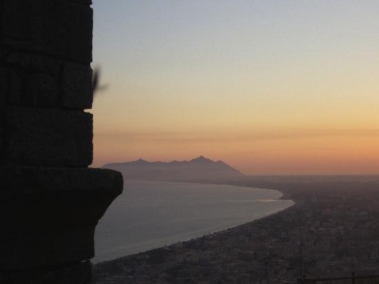 Terracina, Italia: Panorama verso l'agro pontino