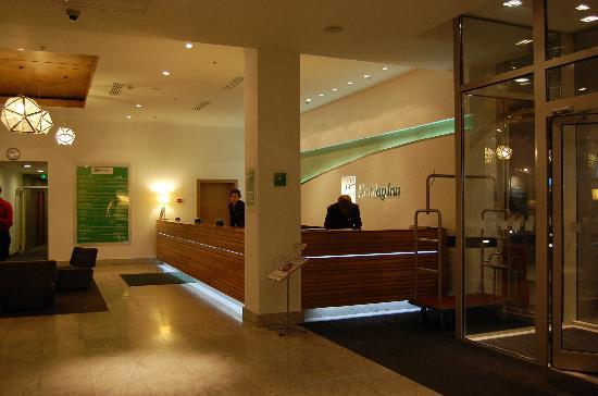 Holiday Inn Moscow-Simonovsky: reception
