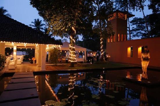 Kahanda Kanda : Property decorated for our wedding