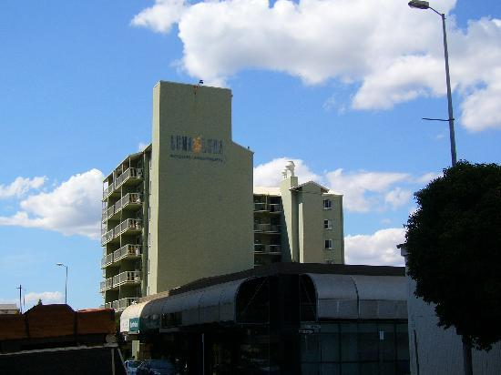 Luma Luma Holiday Apartments Hotel : View from Knuckey Street