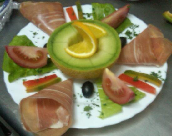 Atlantico Bar Restaurant: Smoked Ham and Melon(tapa)