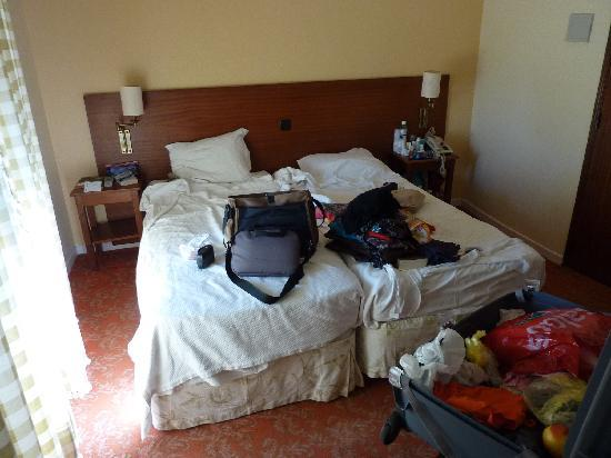 Princesa Hotel & Tea: Rooms cramped and stuffy
