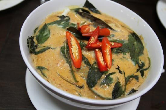 Thai House Takeaway: Seafood curry homok