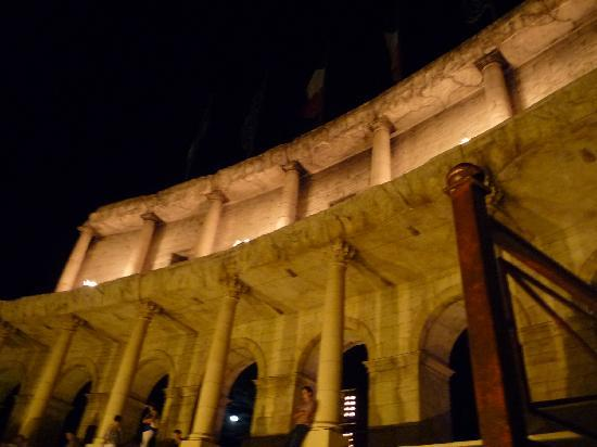 "Hotel ""Colosseo"" Europa-Park: les colonnes du colosseo"