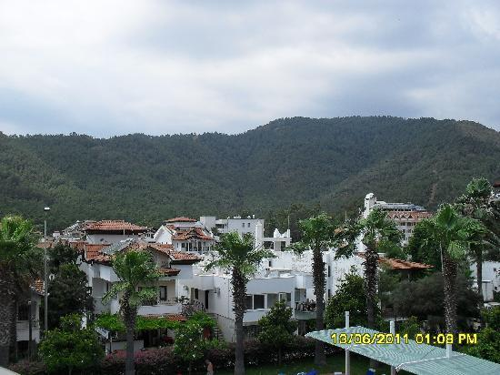 Verde Hotel: view from our balcony