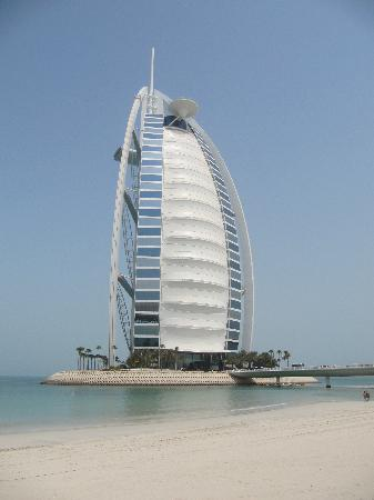 Burj Al Arab Jumeirah: View from the private beach