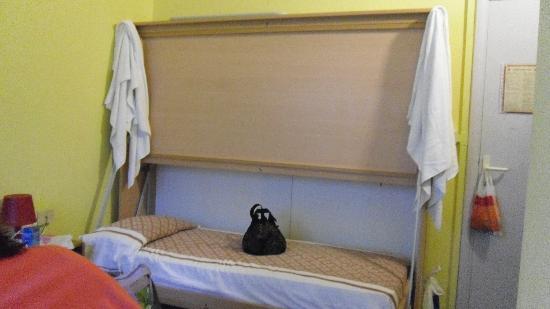 Stella del Mare: Il letto a castello in cui dormivo io, adulta.