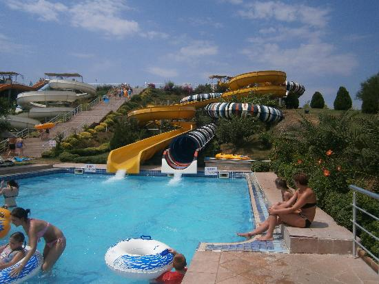 AquaDream Water Park: The Dingy Rides.