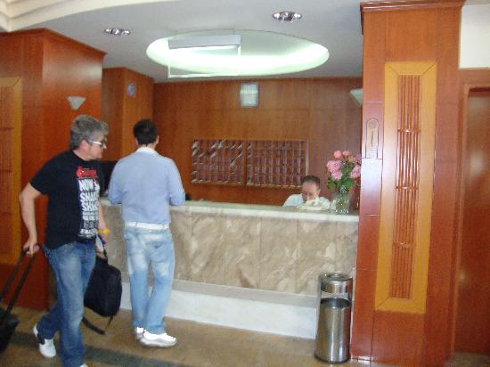 Elpida City Hotel : The reception