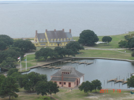 Corolla, NC: View of the Whalehead Club Grounds