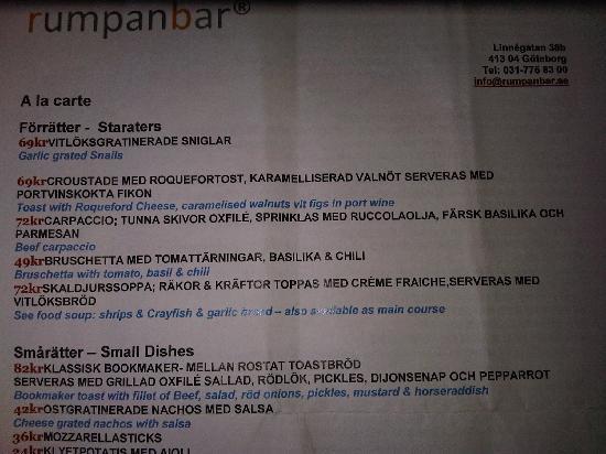 Rumpanbar & kok : menu (pag 1)