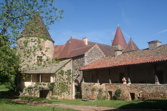 Chateau de Nobles : L'arrivée au chateau