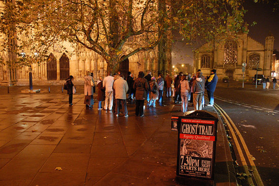 The Ghost Trail of York: Ghost tour york