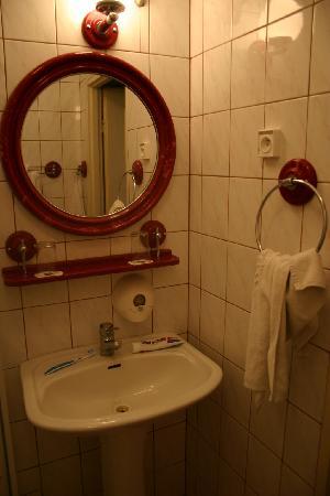 Hotel Gromada Torun: bathroom 1
