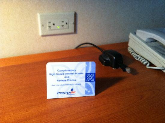 Hilton Garden Inn Las Vegas/Henderson: インターネットが無料です。