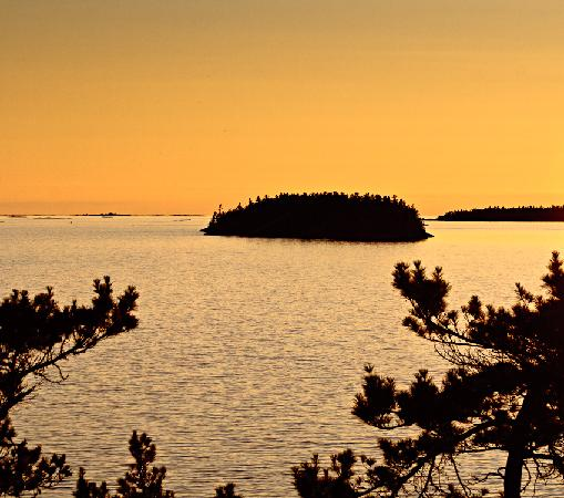 Nobel, Canada: Killbear sunset