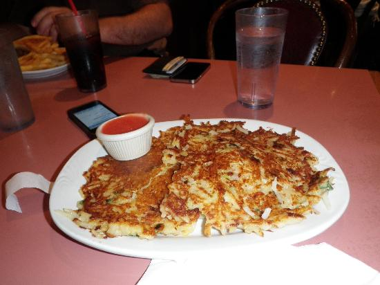 The Breakfast Club : Potato Pancakes -Yum!