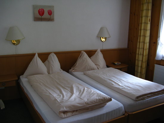 Hotel Silberhorn: beds