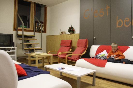 Le Petit Baroudeur Backpacker - Hostel: Un coin idéal pour la détente.