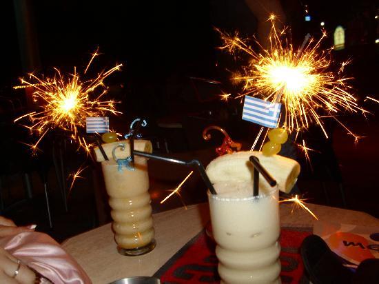 Planet Pub: Banana pina colada gorgeos cocktails