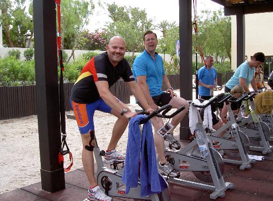 Playa Granada Club Resort: Indoor Cycling Event