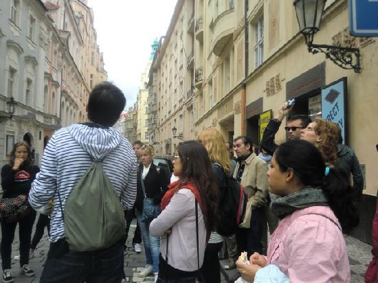 Prague Top Tour: ATENTOS A LAS EXPLICACIONES