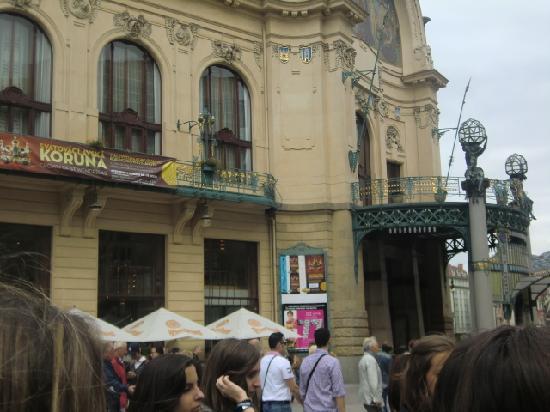 Prague Top Tour: PLAZA DE LA REPÚBLICA