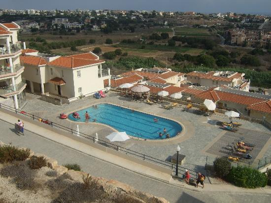 Khlorakas, Cyprus: View from unfinished apartments