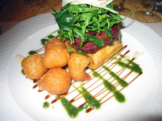Auberge des Glycines Restaurant: A vegetarian option