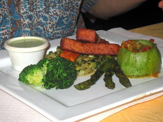 Auberge des Glycines Restaurant: A vegan option