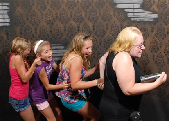 Nightmares Fear Factory: My girls and I going through the house