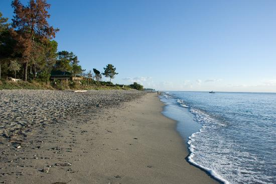 Domaine de l'Avidanella : beach at 7AM