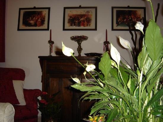 A Casa di Serena a San Pietro: particolare del B&B