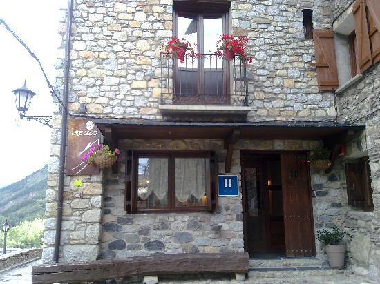 Hotel Areulo: Entrada al hotel