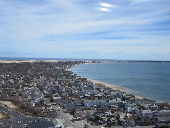 The Provincetown Hotel at Gabriel's : From the top of the Pilgrim Tower