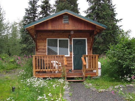 Summit Lake Lodge: Our adorable cabin