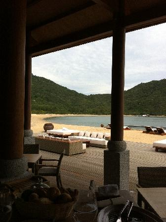 An Lam Ninh Van Bay Villas: The view from the restaurant