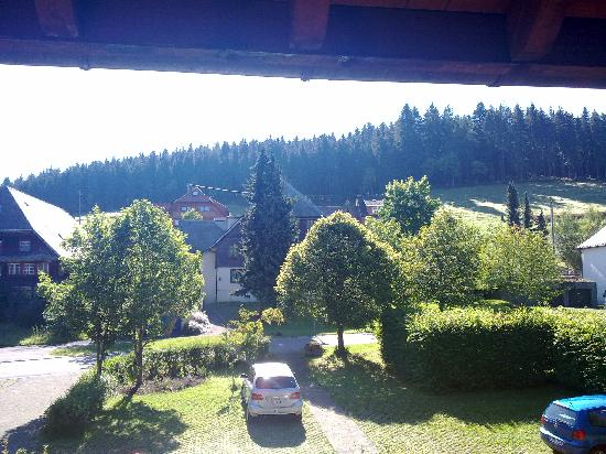 Hotel Adler: Ausblick vom Balkon