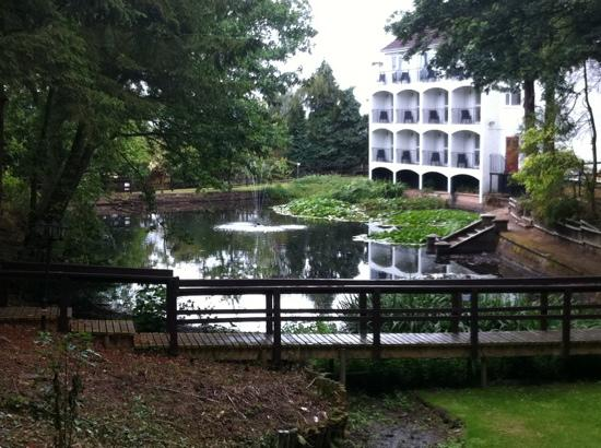 hotel fountain picture of buckatree hall hotel telford