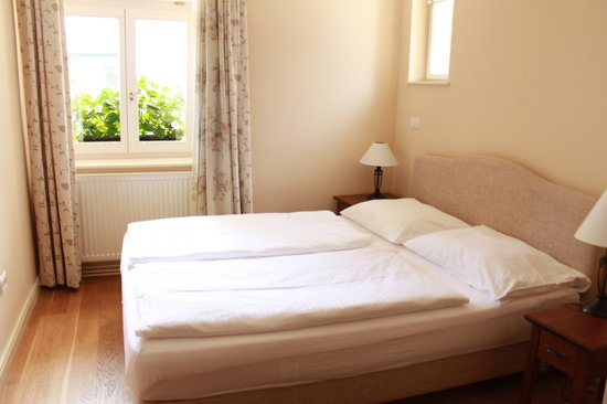 Slamic B&B: Double room with king size bed
