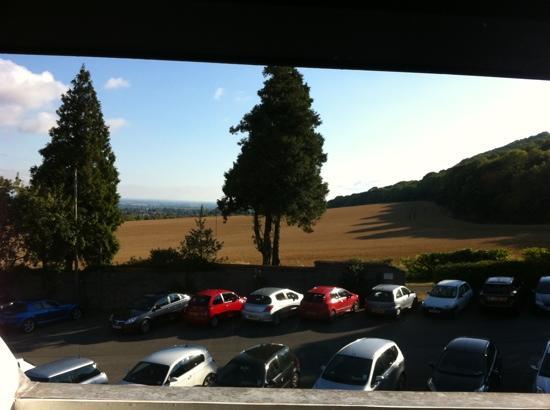 Buckatree Hall Hotel: view from balcony