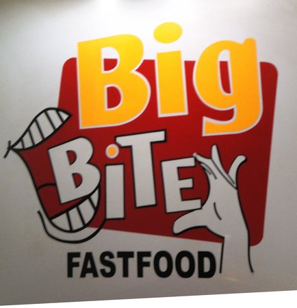 Big Bite Fast Food : The banner.