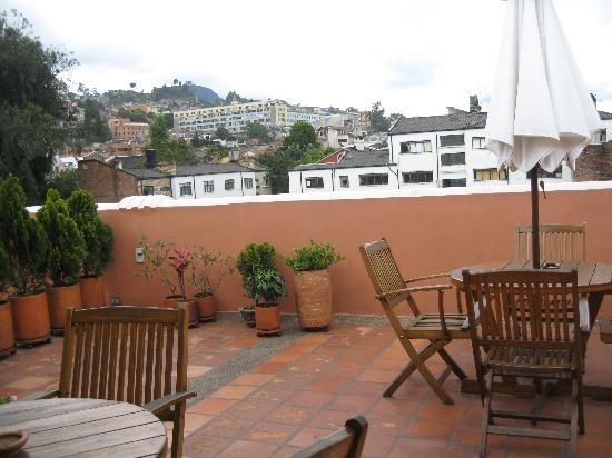 Hotel Casa Deco : Terraza